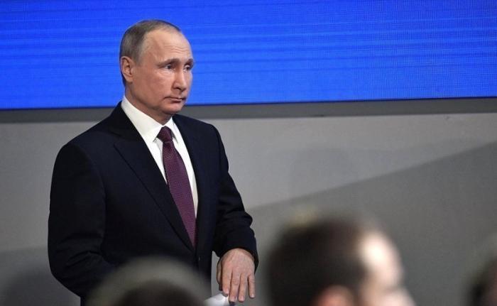 Пресс-конференция президента России Владимира Путина. Прямая трансляция!