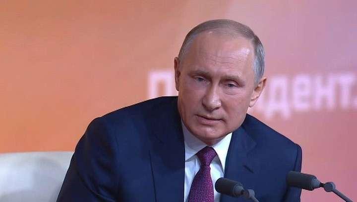 Большая пресс-конференция Владимира Путина. Полный текст