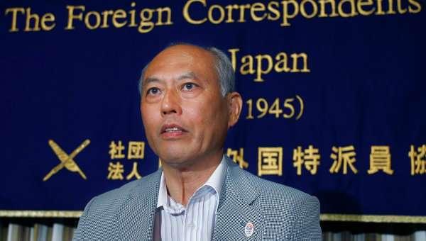 Губернатор Токио Ёити Масудзоэ. Архивное фото