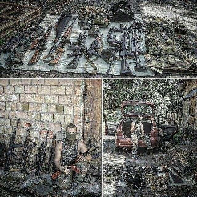 В Киеве две банды нацистов дракой и стрельбой решали кто из них станет частью полиции