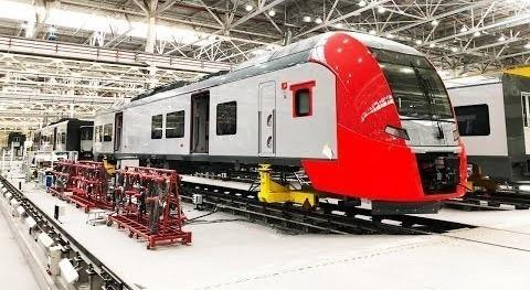 Как наУрале делают локомотивы «Синара», «Гранит» и поезда «Ласточка»