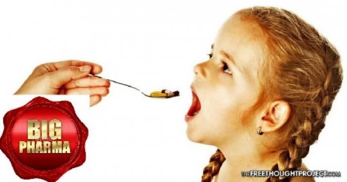 Фармацевтическая банда призывает с трёх лет пичкать детей опасными лекарствами