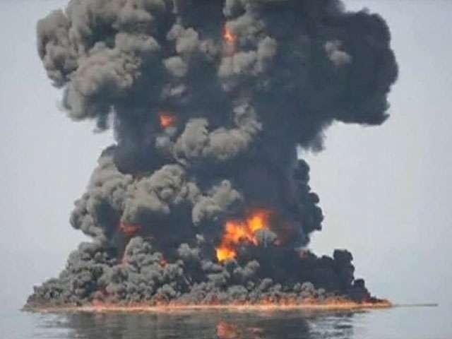 BP наконец-то признали виновной в утечке нефти в Мексиканском заливе