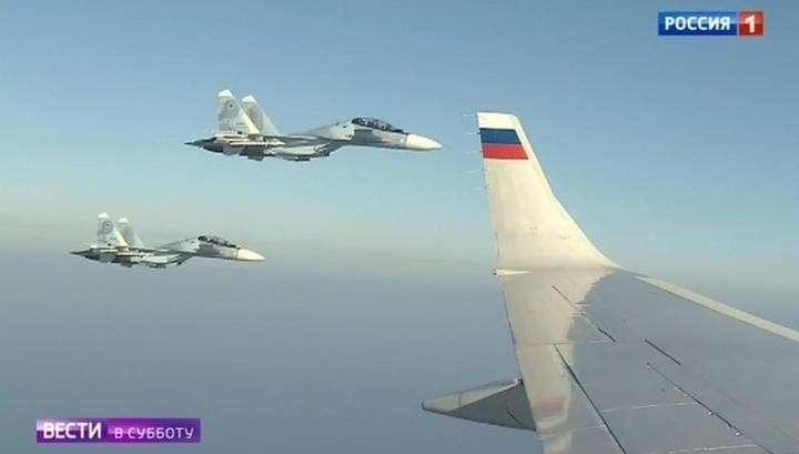 Военные лётчики рассказали, как прикрыли собой Путина в Сирии