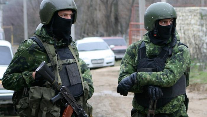 Дагестан. Боестолкновение с бандитами, укрывшимися в частном доме