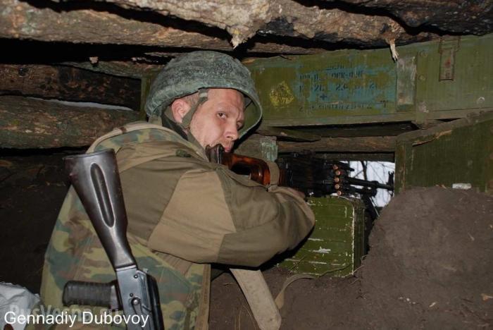 ДНР. Технологии морпехов США помогают воевать с карателями ВСУ