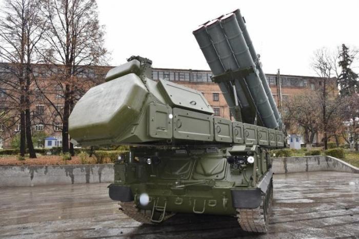 Западный военный округ получил новый бригадный комплект «Бук-М3»