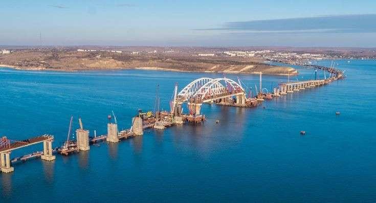 Мост через Керченский пролив получил официальное название