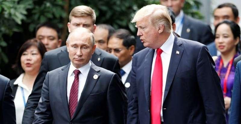 Владимир Путин поблагодарил Дональда Трампа за сведения о террористах в Петербурге