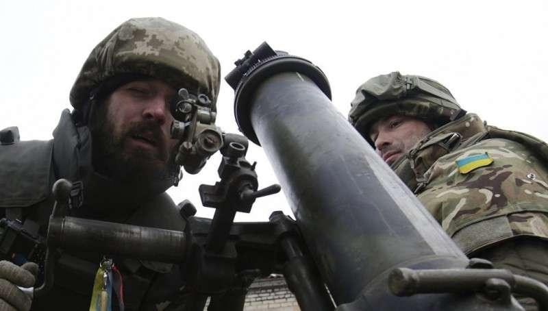 Как украинская армия карателей осталась без боеприпасов в 2017 году. Порох, прощай!