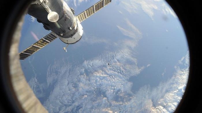 Стыковка корабля «Союз МС-07» с МКС. Запись прямой трансляции