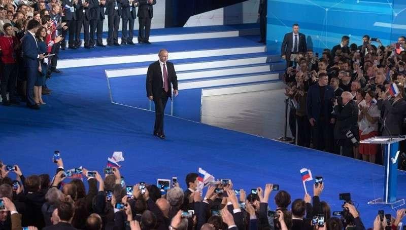 Владимир Путин заявил о восстановлении сильной независимой России