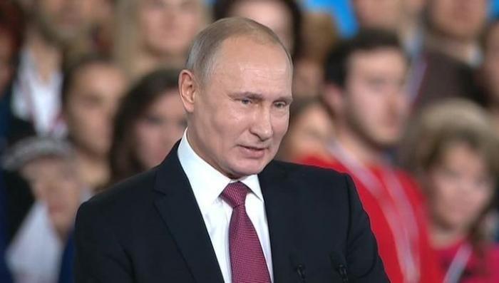 Выступление Владимира Путина на форуме ОНФ «Россия, устремленная в будущее»