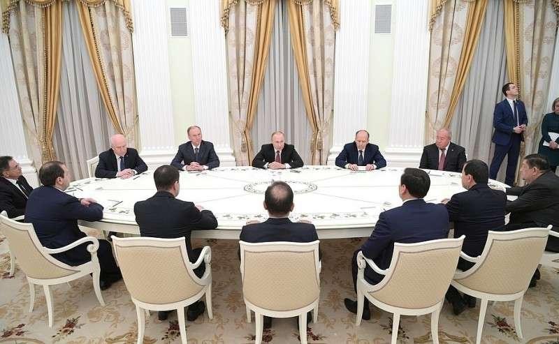 Встреча сруководителями органов безопасности испециальных служб государств– участников Содружества Независимых Государств.