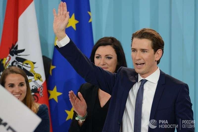 «Киевский Майдан – заговор спецслужб». В Австрии к власти пришли противники Киева