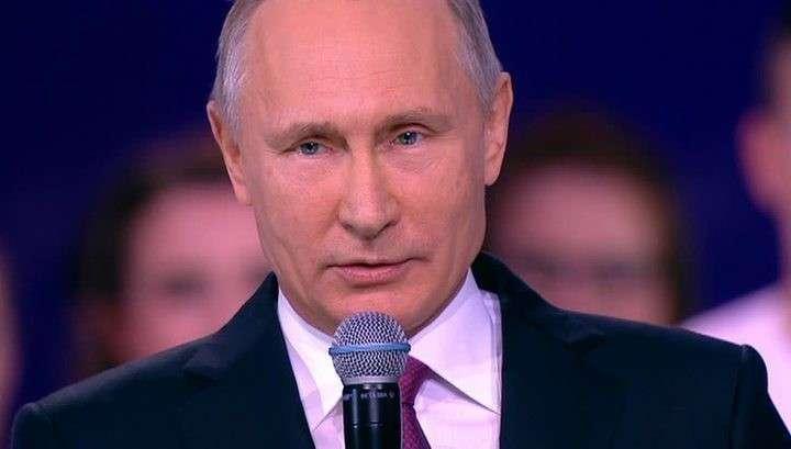 ОНФ назвал дату, когда Путина выдвинут кандидатом в президенты