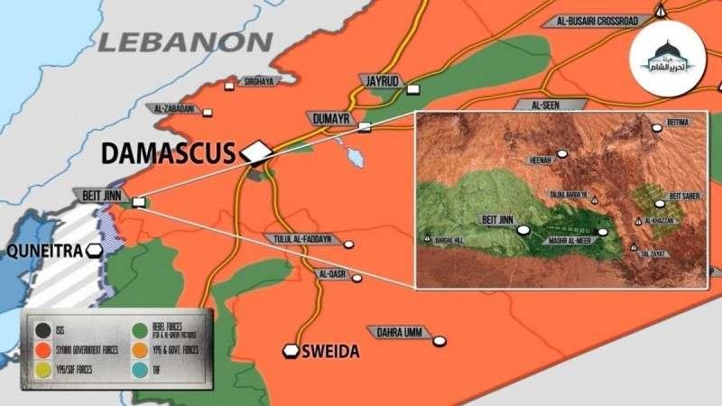 Сирия. Правительственная армия заняла стратегическую высоту в Идлибе