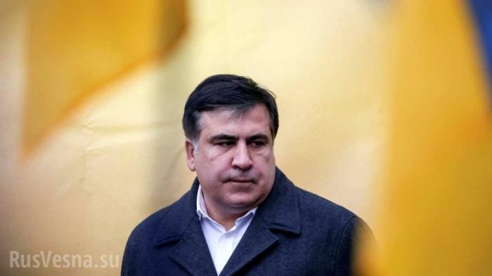 Саакашвили стал реальной угрозой для Вальцмана