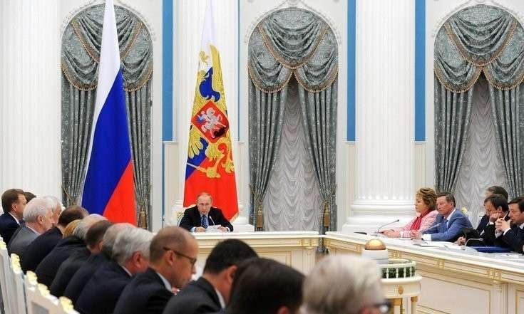 Владимир Путин на Совете по стратегическому развитию и приоритетным проектам. ЖКХ