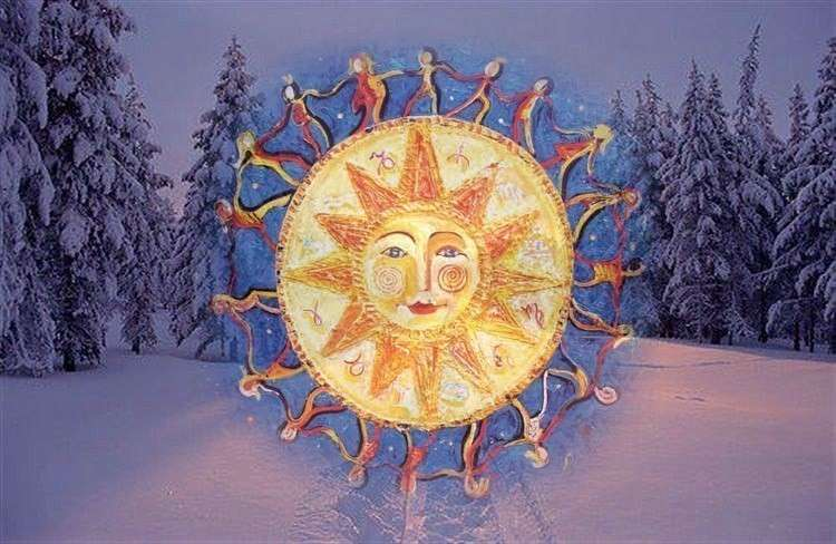 Зимнее Солнцестояние 2017. Коляда. Астрономический Новый Год!