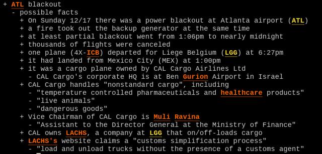 Блекаут в аэропорту Атланты – операция, для скрытной переброски ядерного оружия в Израиль?
