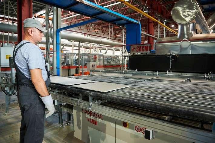 В Калужской области открыт завод по производству керамической плитки