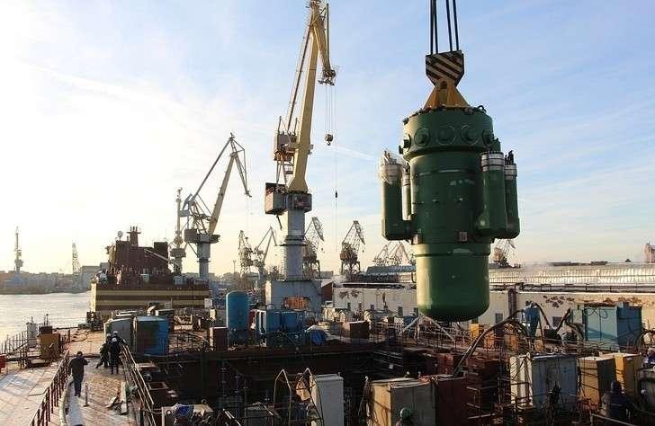 Наледокол «Сибирь» установлен атомный реактор