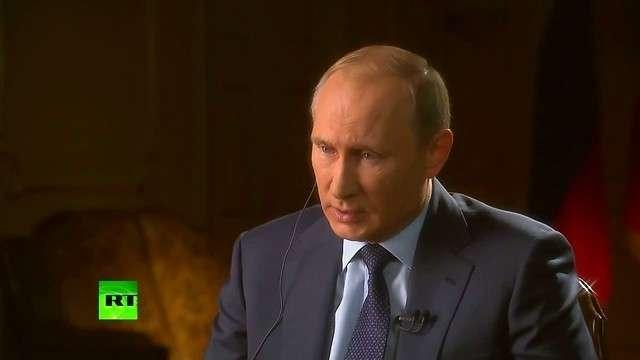 Владимир Путин: «Хотите знать, кто создал ИГИЛ?»