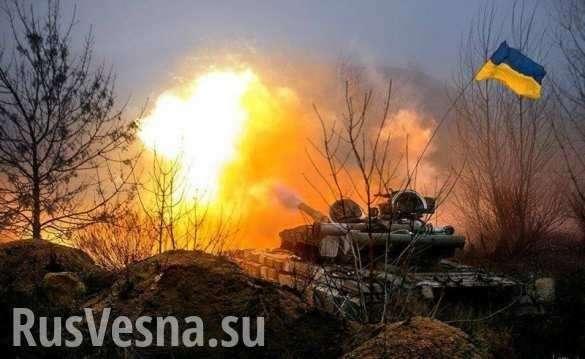 Танковые колонны ВСУ движутся всторону Донбасса (ВИДЕО) | Русская весна