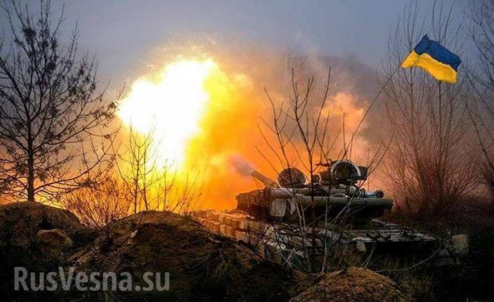 Танковые колонны карателей ВСУ движутся всторону Донбасса