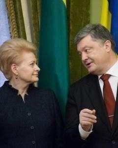 Халявщики Литва и Украина хотят делить немецкие миллиарды