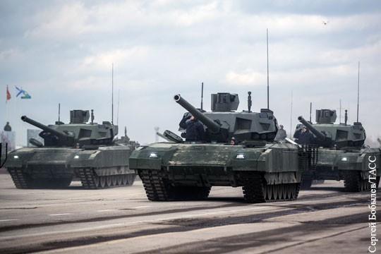 Русские танки «Армата» скоро начнут поступать в войска
