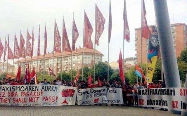 В стране Басков поддержали борьбу Донбасса с фашизмом