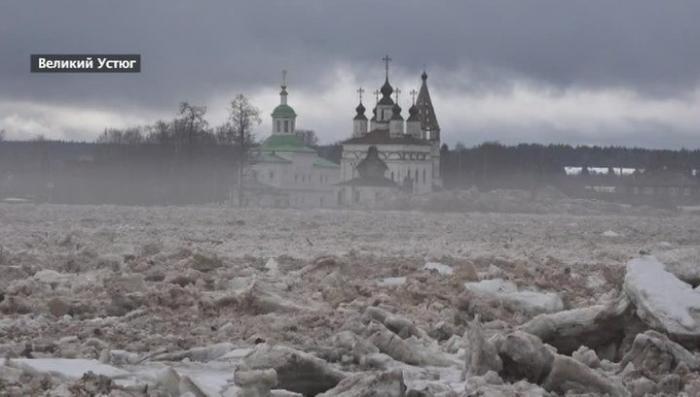 В центре России – предновогодний паводок. Погода бьёт рекорды