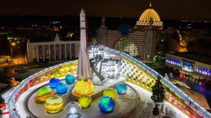 На ВДНХ заработали самые большие тюбинговые горки в Москве