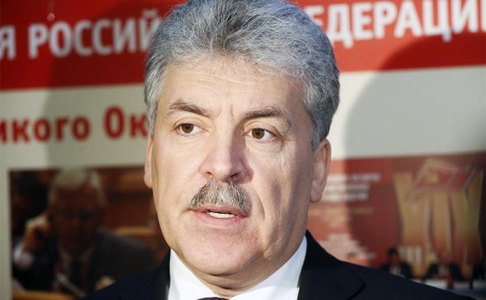 Выбор КПРФ: администрация Президента выдвинула Грудинина для активизации явки на выборах
