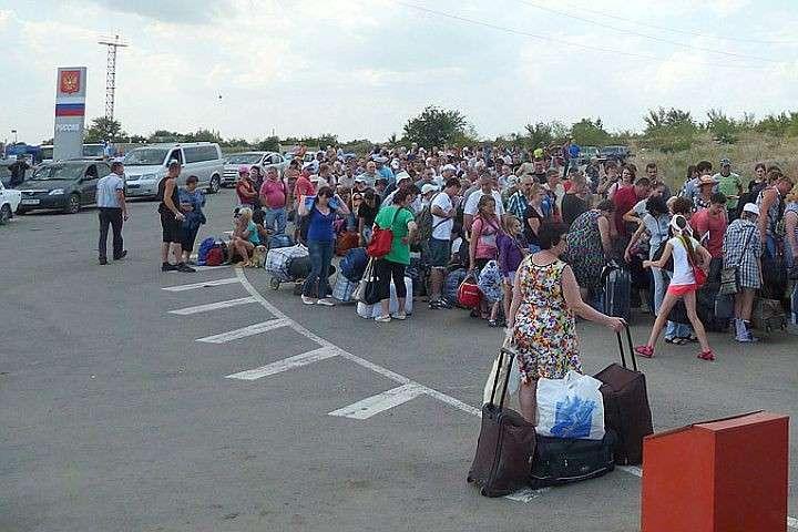 Луганские ополченцы и мирное население не верят киевским «мирным голубям»