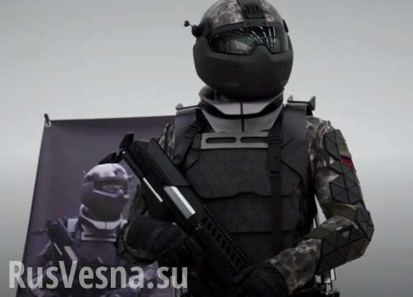 Воину в «Ратнике» будут помогать персональный робот и беспилотник   Русская весна