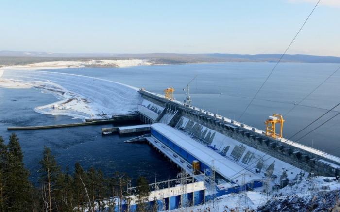 Завершилось строительство Богучанской ГЭС