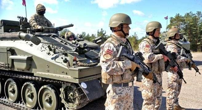 Латвия за счёт России втрое увеличила свой военный бюджет