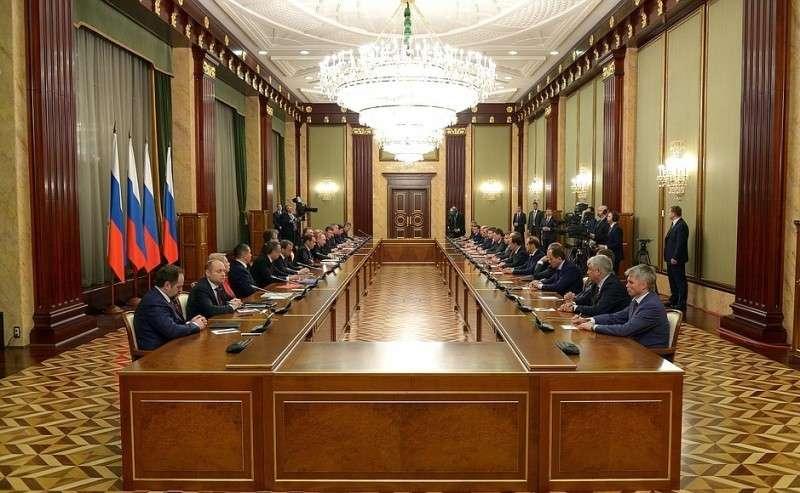 Встреча счленами Правительства.
