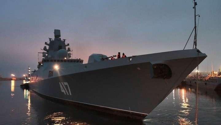 Российский фрегат страшно напугал весь британский флот
