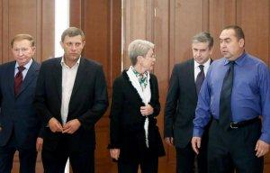 Контактная группа по Украине условилась о прекращении огня, отводе войск и обмене пленными