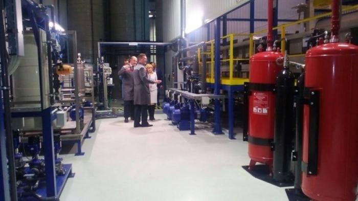 В Рязанской области автоагрегатный завод запустил высокотехнологичную линию производства