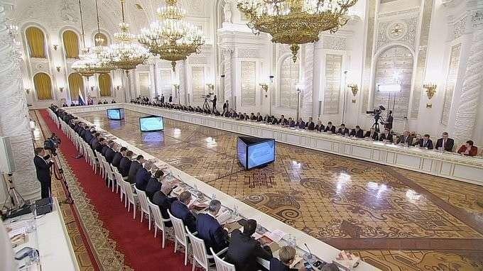 Заседание Госсовета повопросам повышения инвестиционной привлекательности регионов