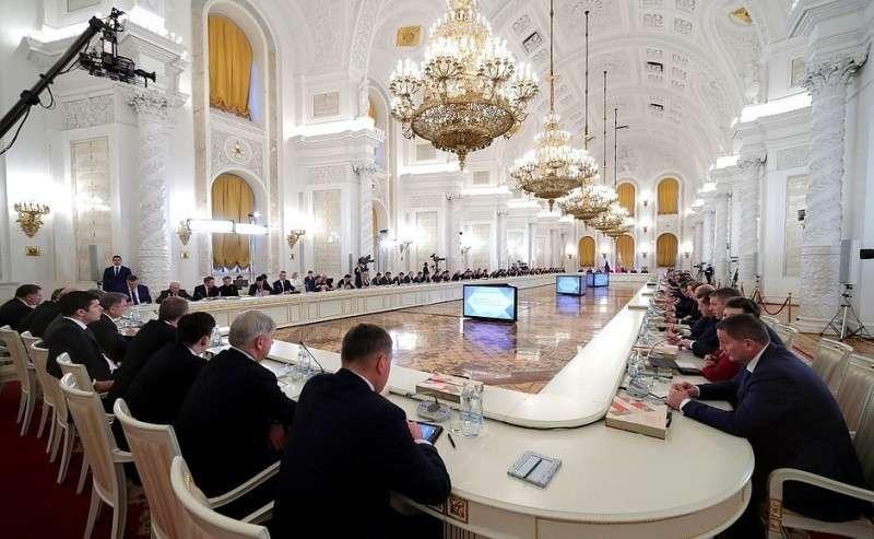 Заседание Государственного совета повопросам повышения инвестиционной привлекательности регионов.