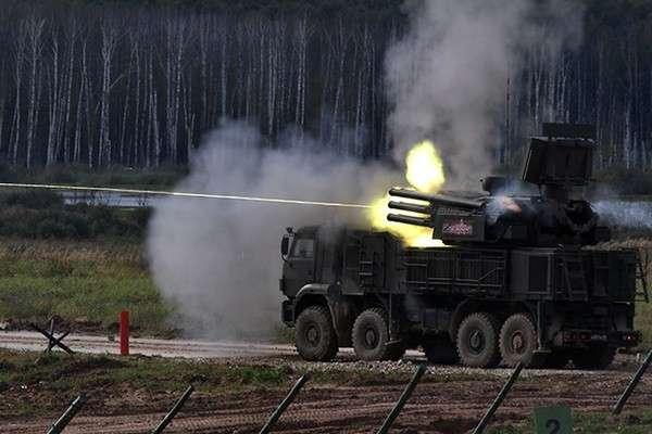 Российские «Панцири-С1» отразили ракетную атаку наавиабазу Хмеймим в Сирии