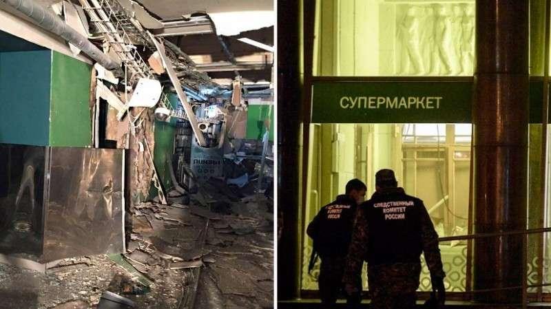 Теракт в Петербурге: что известно о взрыве в магазине «Перекрёсток»