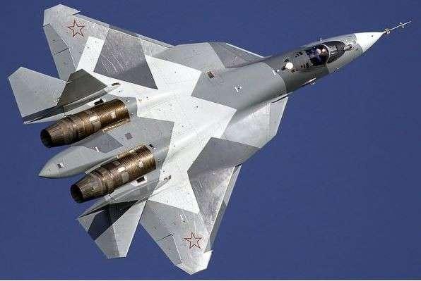 Истребитель пятого поколения Су-57 оснастили новыми двигателями
