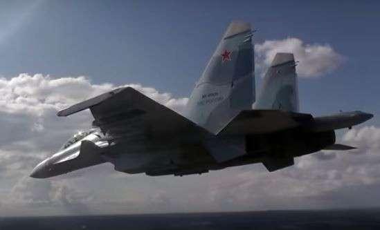 Российский Су-30 снова перепугал «храбрых» пилотов ВВС США в небе над Чёрным морем